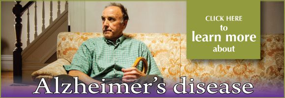 Click to learn more about Click here to learn more about Alzheimer's disease